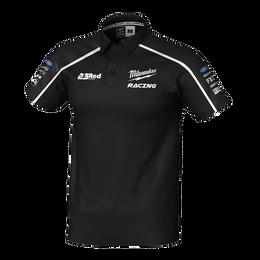 2019 Milwaukee Racing Black Polo Men's
