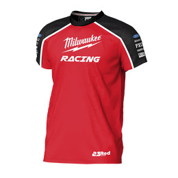 2019 Milwaukee Racing Black/ Red Tee Youth's