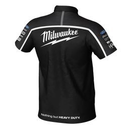 Milwaukee Racing Black Polo Men's