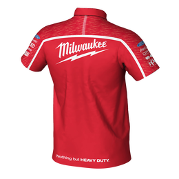 Milwaukee Racing Red Polo Men's