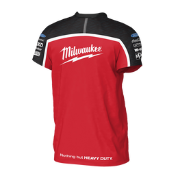 Milwaukee Racing Black/Red Tee Men's