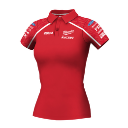 Milwaukee Racing Red Polo Women's